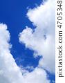 푸른 하늘 복사 공간 4705348