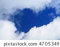 푸른 하늘 복사 공간 4705349