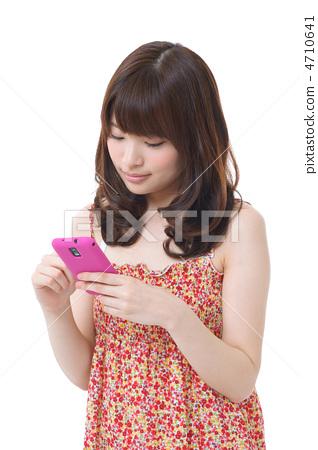젊은 여성 (여름) 4710641