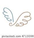 การวาดลวดขนนก 4713098