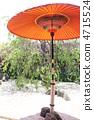 red umbrella, teceremony umbrella, japanese style 4715524
