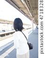 여성, 여자, 흰 옷 4718328