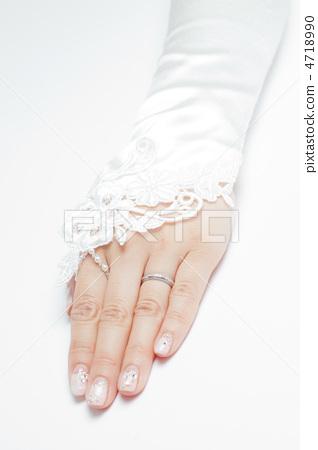 예쁜 여자의 손 4718990