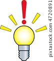 electric bulb, electric light bulb, light bulb 4720891