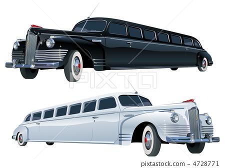 long vintage limo 4728771