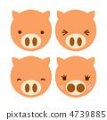 pig, animal, animals 4739885