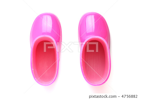 White back pink children's boots 4756882