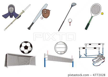 Stock Illustration: sports equipment, sports, driver