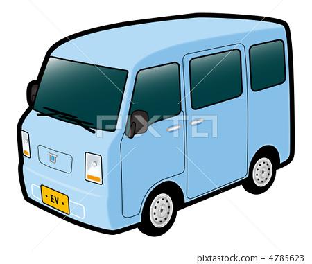 Light van EV water 4785623