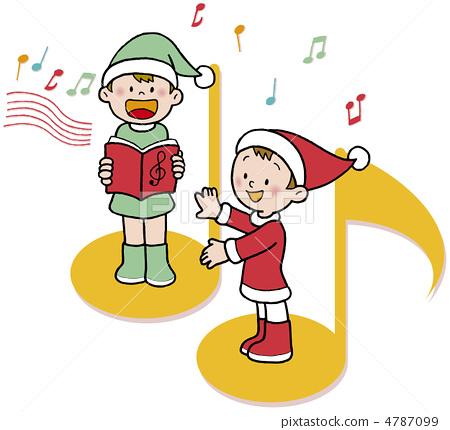겨울 크리스마스 합창 4787099