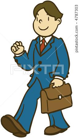 Business salaried man male businessman 4787303