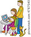 家庭亲子家庭电脑 4787540