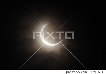 開花的日食2012年5月21日 4791681