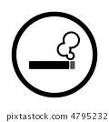 吸烟标记 4795232