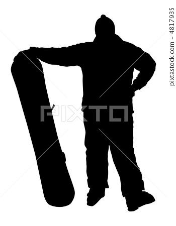 Snowboarder. 4817935