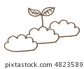 從雲層萌芽 4823589