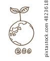 地球繪圖 4823618