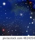별자리, 밤하늘, 별 밤 4824354