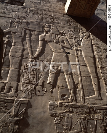 Temple of Carnac Column Room Relief 4840998
