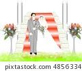 婚礼红毯 过道 新郎 4856334