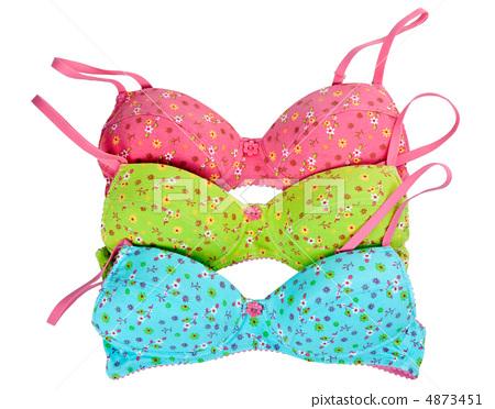 three color cotton bra 4873451