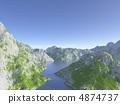 맑게 개인 계곡 4874737