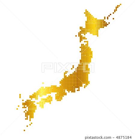 Japan map money 4875184