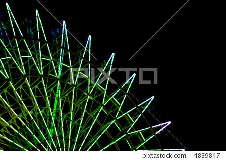Ferris wheel of night (single body) / color variation 4889847