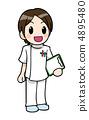 간호사 남성 4895480