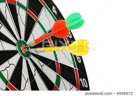 Board for darts. 4908972