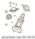 행성과 로켓 4913028