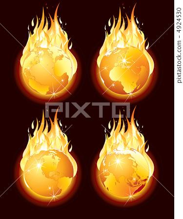 Fire Globe 4924530