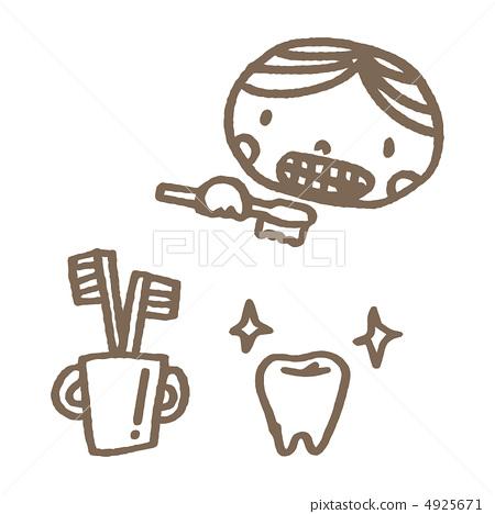 Toothbrush boy 4925671