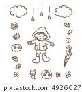 雨具和男孩 4926027