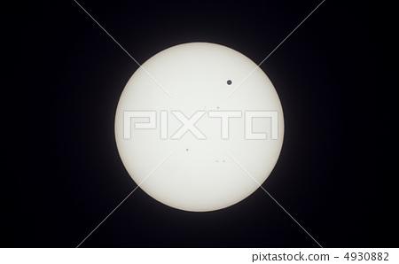 Passing the solar plane of Venus 4930882