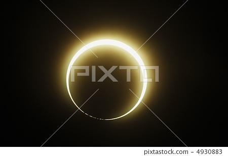 環形日食 4930883