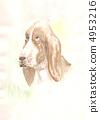 dog. watercolor 4953216