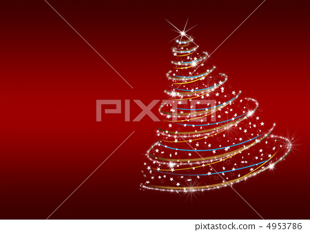 Christmas tree from snowflakes 4953786