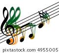 Treble clef 4955005