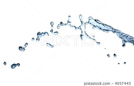 Splashing Water Abstract 4957443