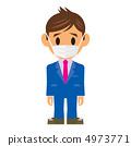 商人例證面具 4973771