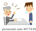 An angry businessman 4977634