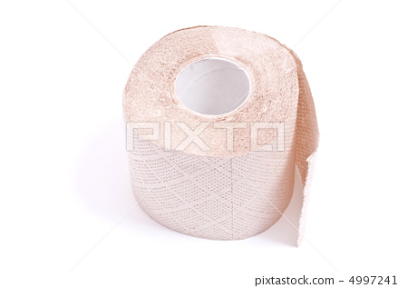 roll of toilet paper with clipping path 4997241
