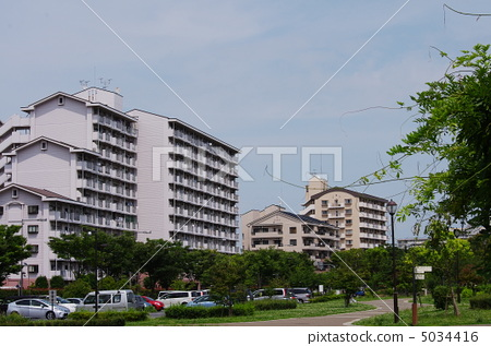 居住區 住宅區 公寓 5034416