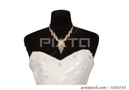 wedding dress isolated 5050743