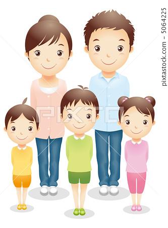 家庭的插圖 5064225