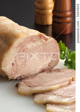 西餐烤豬肉豬肉豬肉菜餚高級菜餚西餐肉 5064603