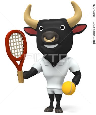 Cow tennis 5069270