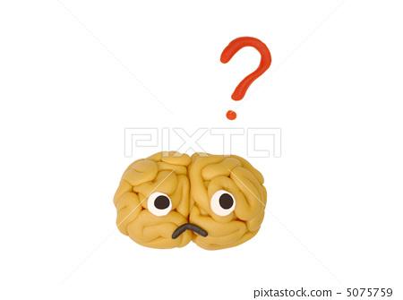 Thinking brain 5075759