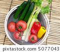 新鮮蔬菜 水果和蔬菜 生吃蔬菜 5077043